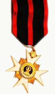 Medal of the Order of Saint Sylvester and the Golden Militia, 1841
